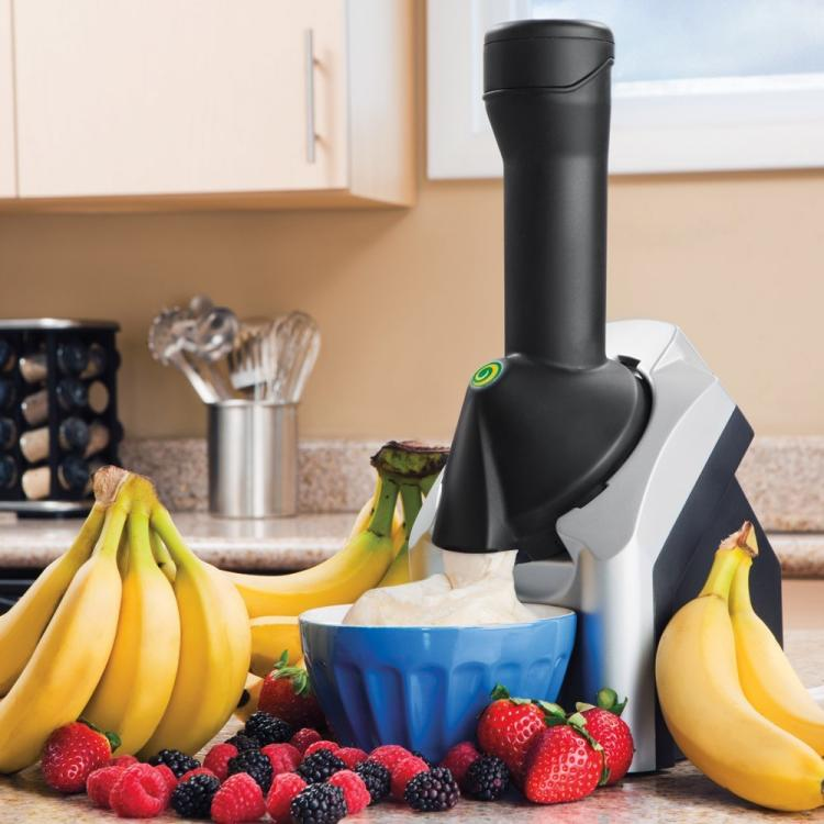Yonanas Home Frozen Yogurt Maker - Make Healthy Frozen Yogurt Ice Cream at Home - DIY Frozen Yogurt