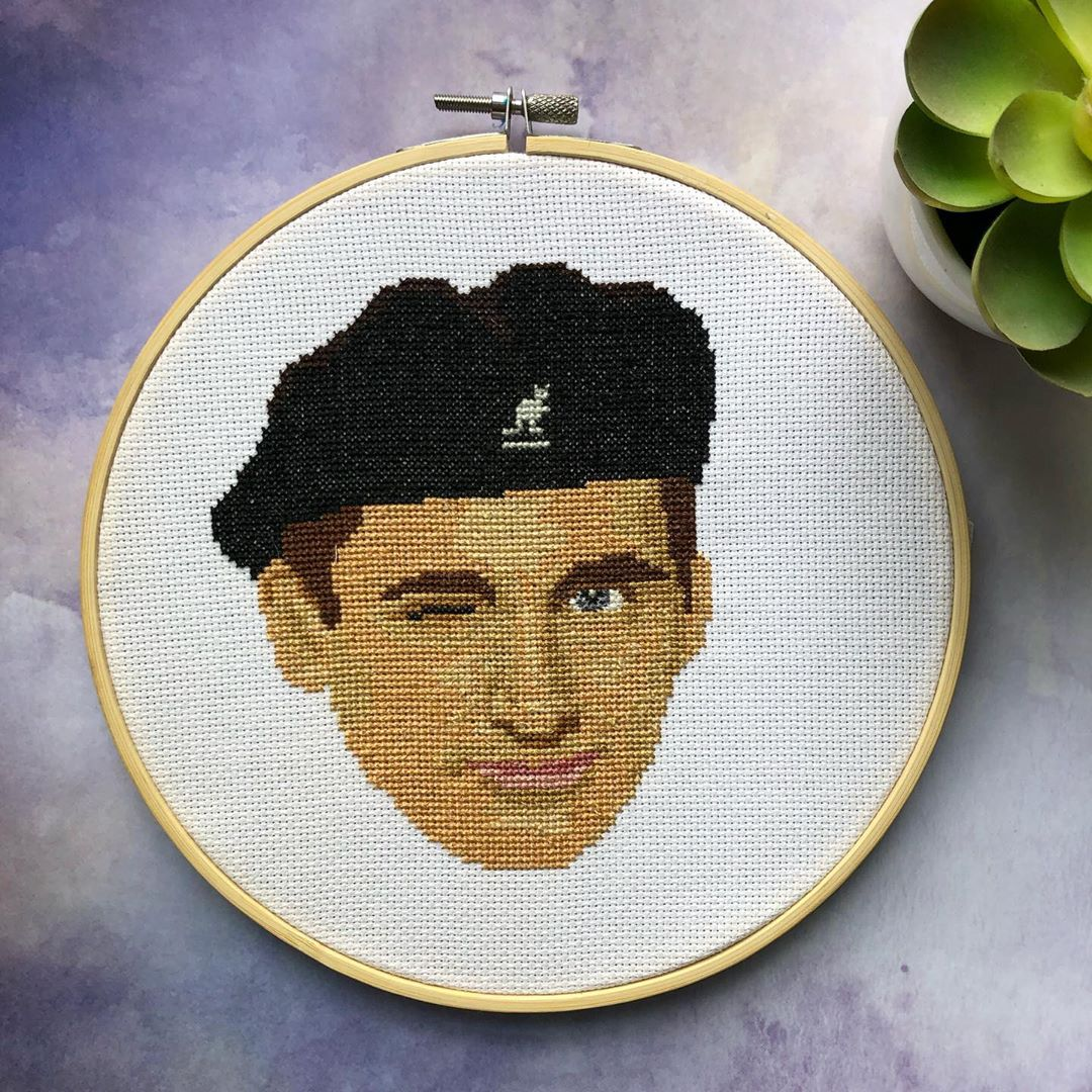 The office embroidery - The Office Cross Stitch