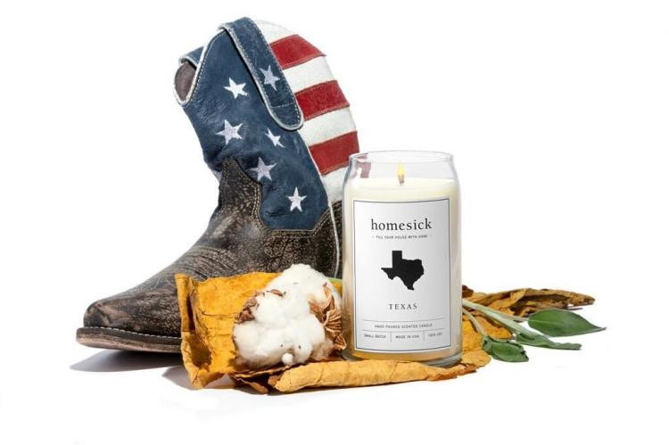 Texas Home Sick Candles - Candle smell of Texas