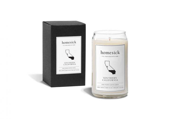 Southern California Home Sick Candles - Candle smell of southern california