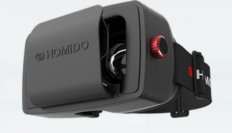 Homido VR Headset - Uses Smart Phone As Screen