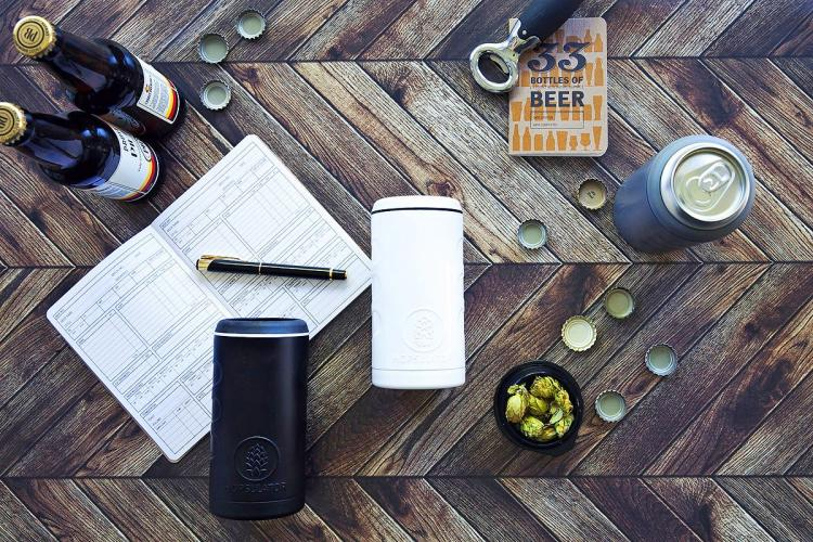 HOPSULATOR Trio: 3-In-1 Beer Koozie, Thermos, and Pint Glass