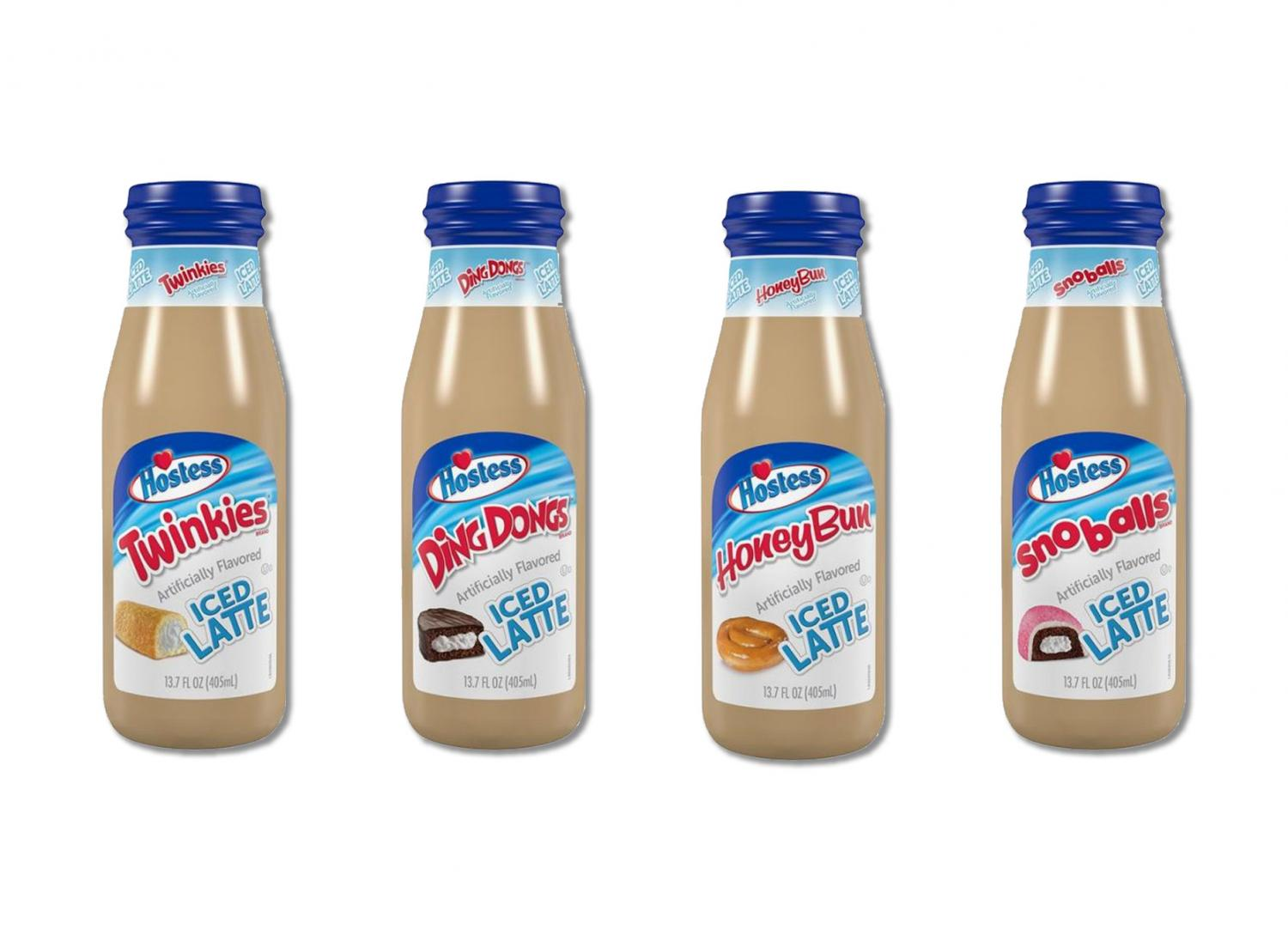 Hostess Twinkie Flavored Iced Latte Bottles - Dessert latte tastes like twinkies