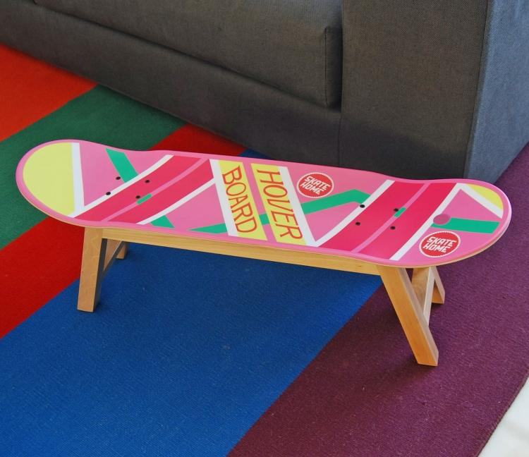 Back To the Future Hoverboard Stool