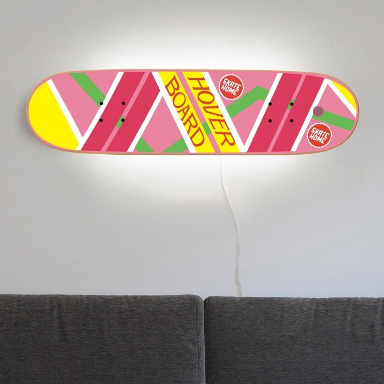 Back To the Future Hoverboard Lamp