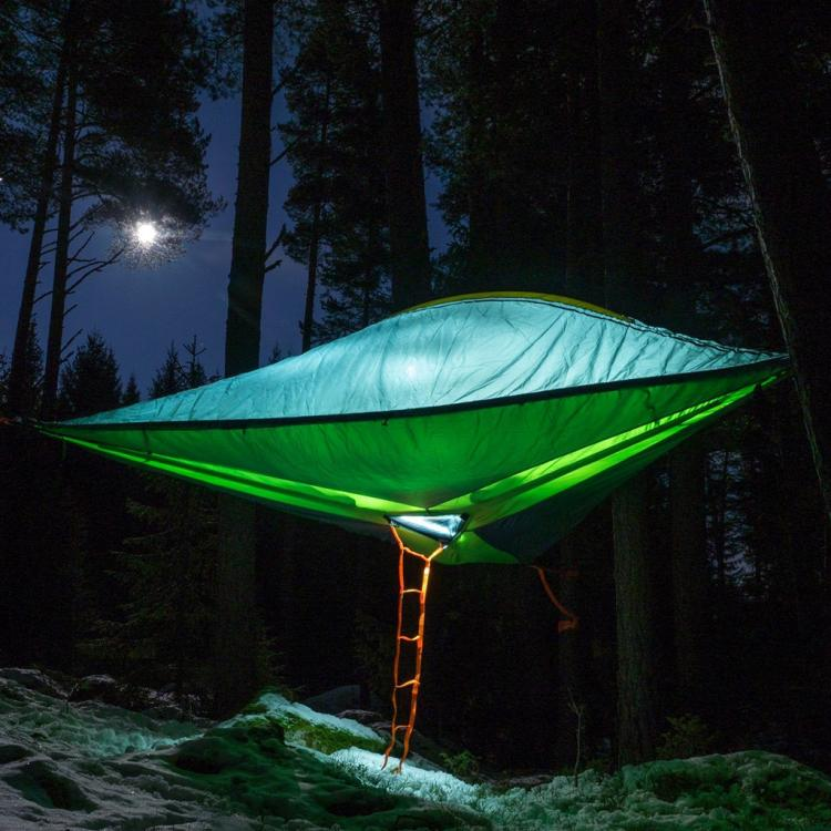 Tentsile Tree Tent Lets You Camp In The Air