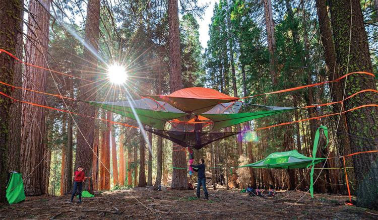 Tentsile Tree Tent - Hammock Tent & Tentsile Tree Tent: A Hovering Hammock Tent That Connects To Three ...
