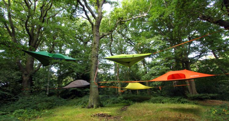 Tentsile Tree Tent A Hovering Hammock Tent That Connects