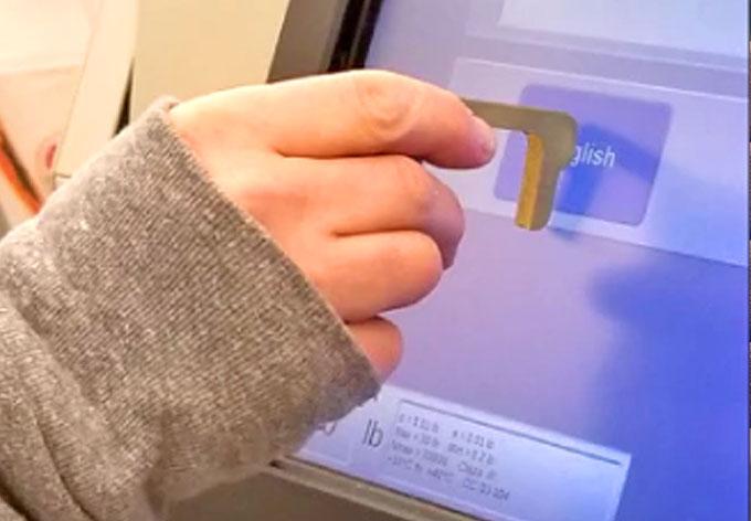 Hygiene Hand Brass Door Opener