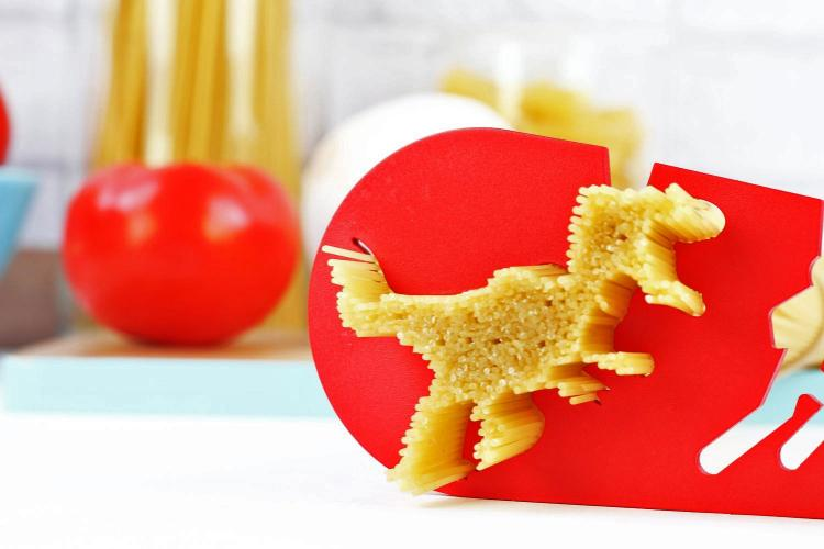 I Could Eat a T-Rex Spaghetti Measurement Tool