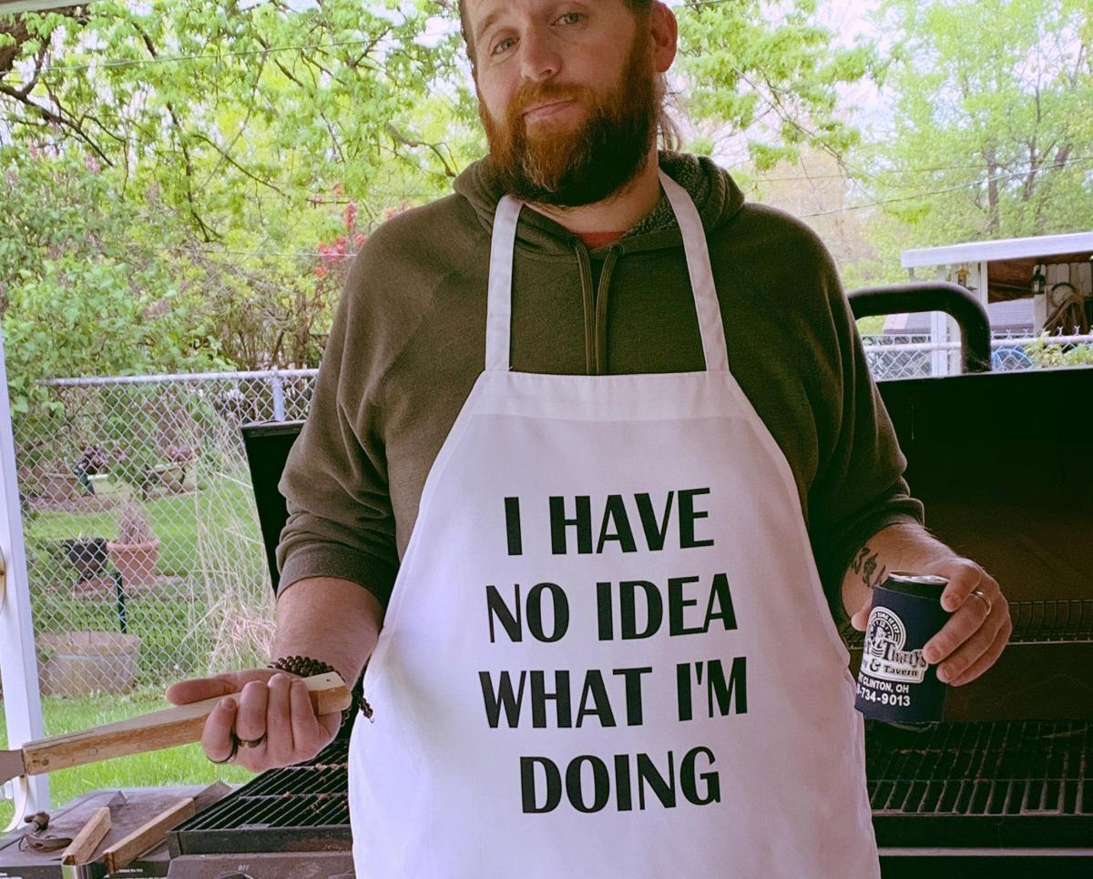 I Have No Idea What I'm Doing Funny Apron - Hilarious Dad BBQ Apron