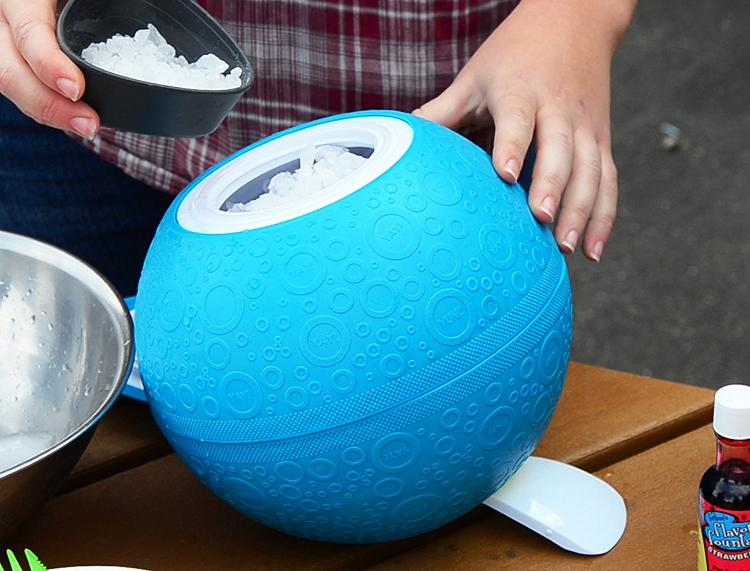 YayLabs Ice Cream Maker Ball - Ice Cream Ball Makes Ice Cream Just By Playing With the ball
