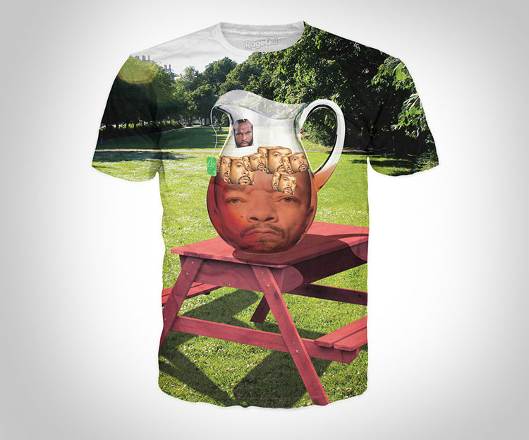 Ice Tea With Ice Cubes T-Shirt & Mr. T