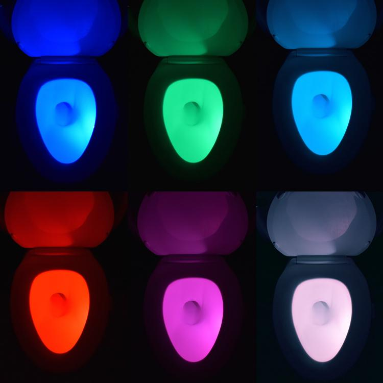 IllumiBowl Toilet Bowl Night Light