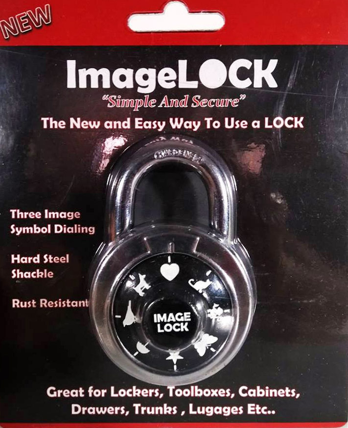 Image Lock Uses Images Instead of Numbers