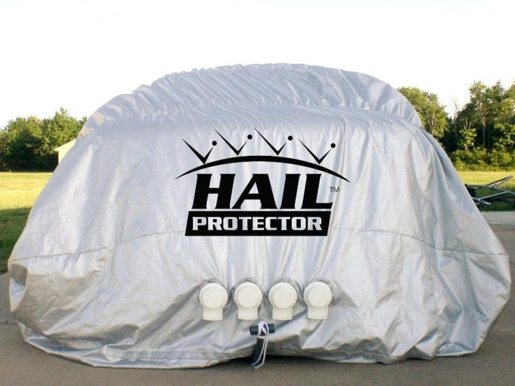 Inflatable Hail Protector For Your Car