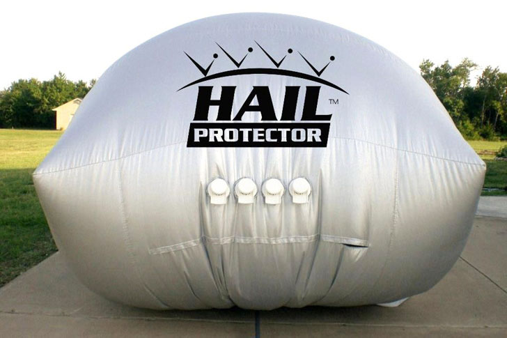 Inflatable Hail Protector For Your Car Or Truck