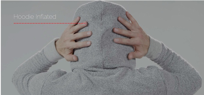 Hypnos Inflatable Sleep Hoodie