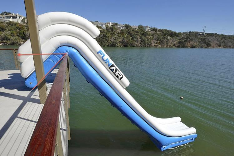 Inflatable Water Slide water slide for yachts