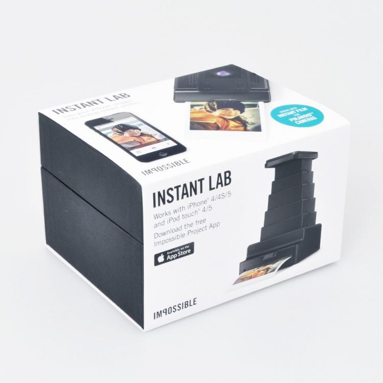 Impossible Instant Lab - Polaroid Prints Of Your Smart Phone Pictures - Analog smart phone printer