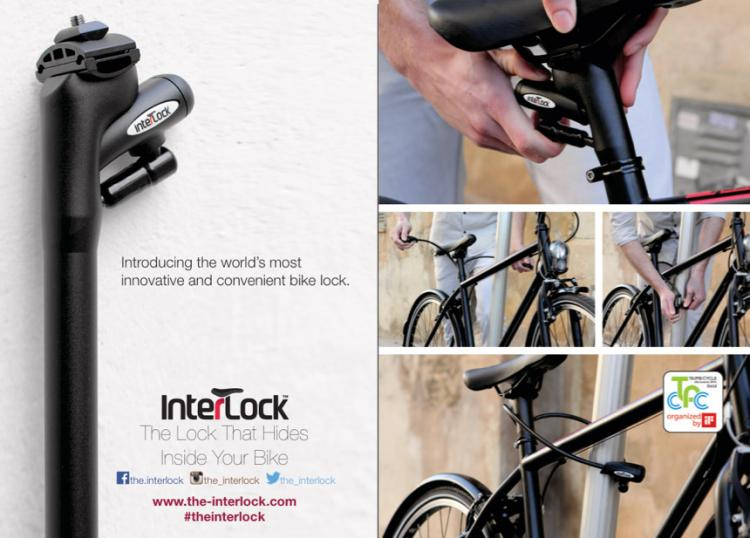 interlock bike lock pulls out of seat