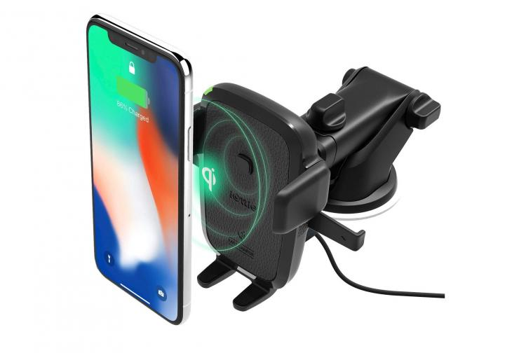 iOttie Wireless Charging Car Phone Mount - Charge Smart Phone Wirelessly In Car