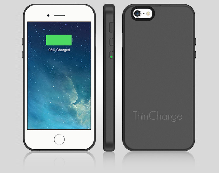 ThinCharge iPhone 6/6s Battery Charging Case