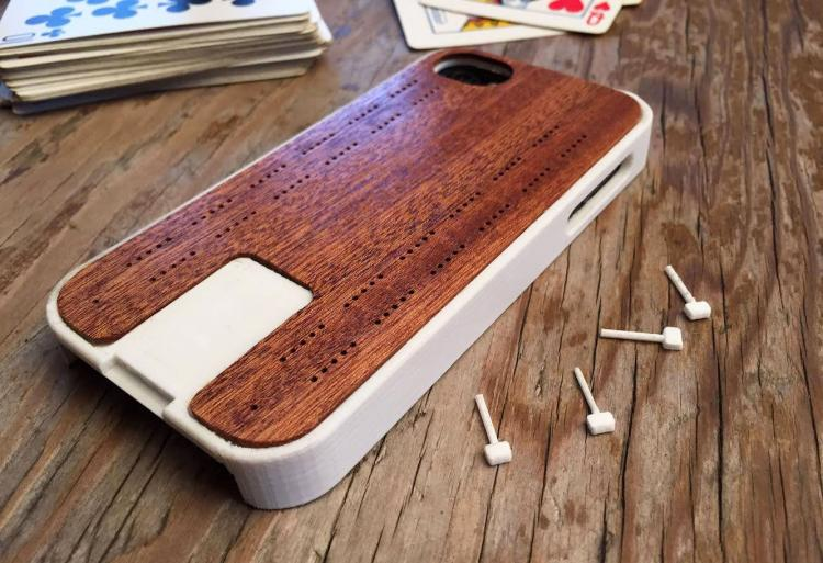 Crib-Case Cribbage Board iPhone Case
