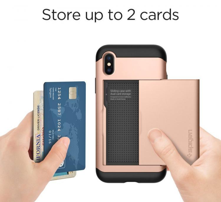 iPhone X Case Has a Door For Your ID and Credit Cards