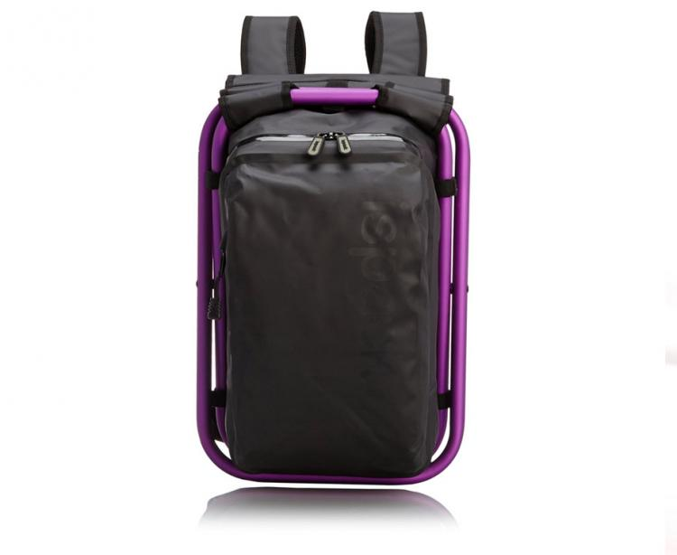ISPACK Adventure Backpack Chair - Backpack that turns into a chair