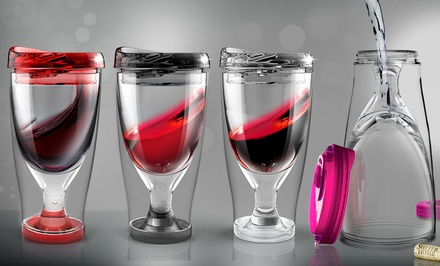 Ice Vino2Go Double Sided Glass - Ice and Wine