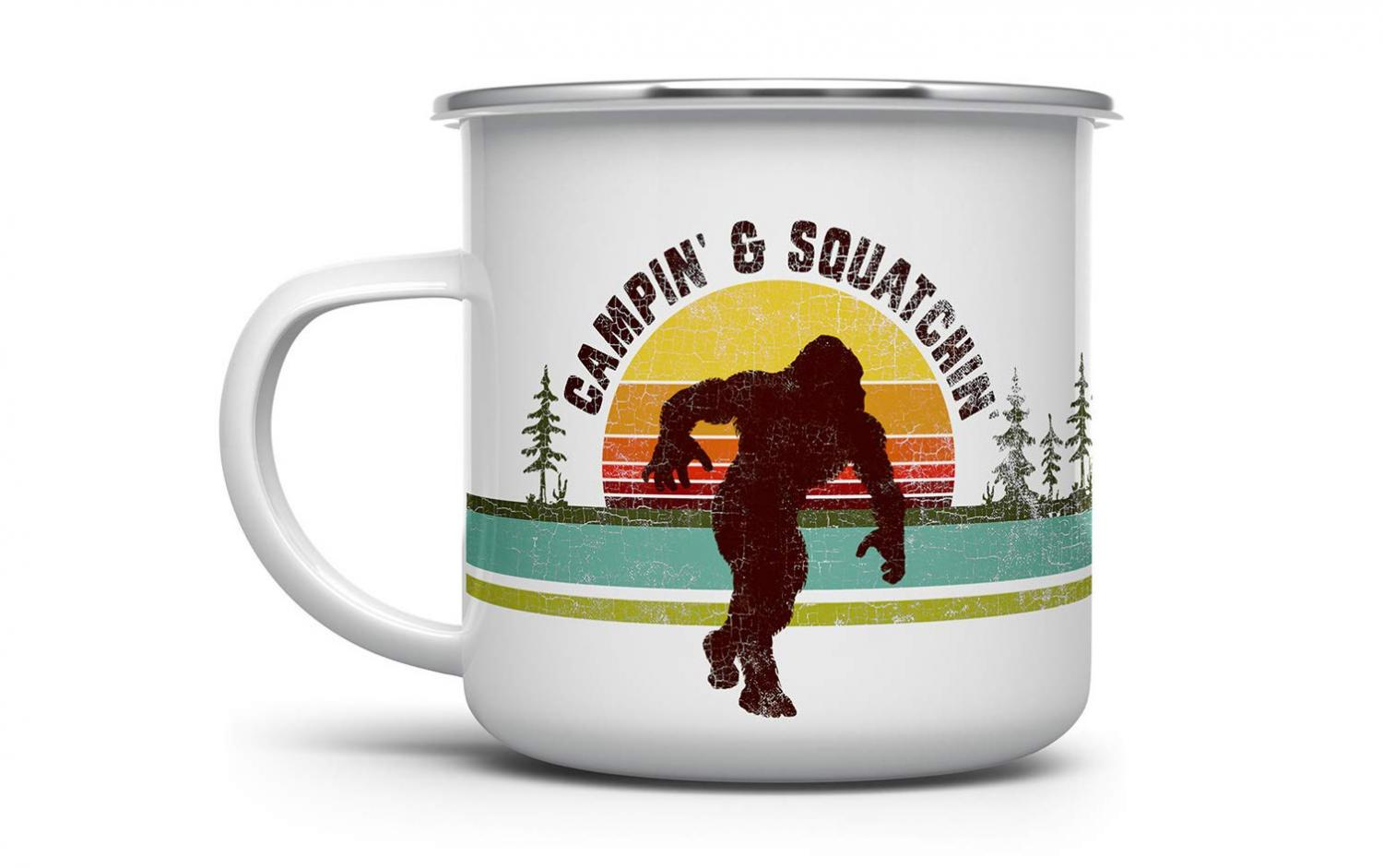 A Sasquatch Coffee Mug (Id Rather Be Squatchin)