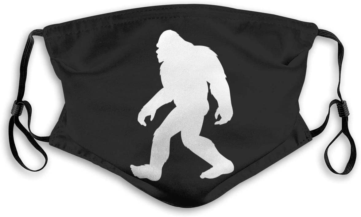 A Sasquatch Face Mask