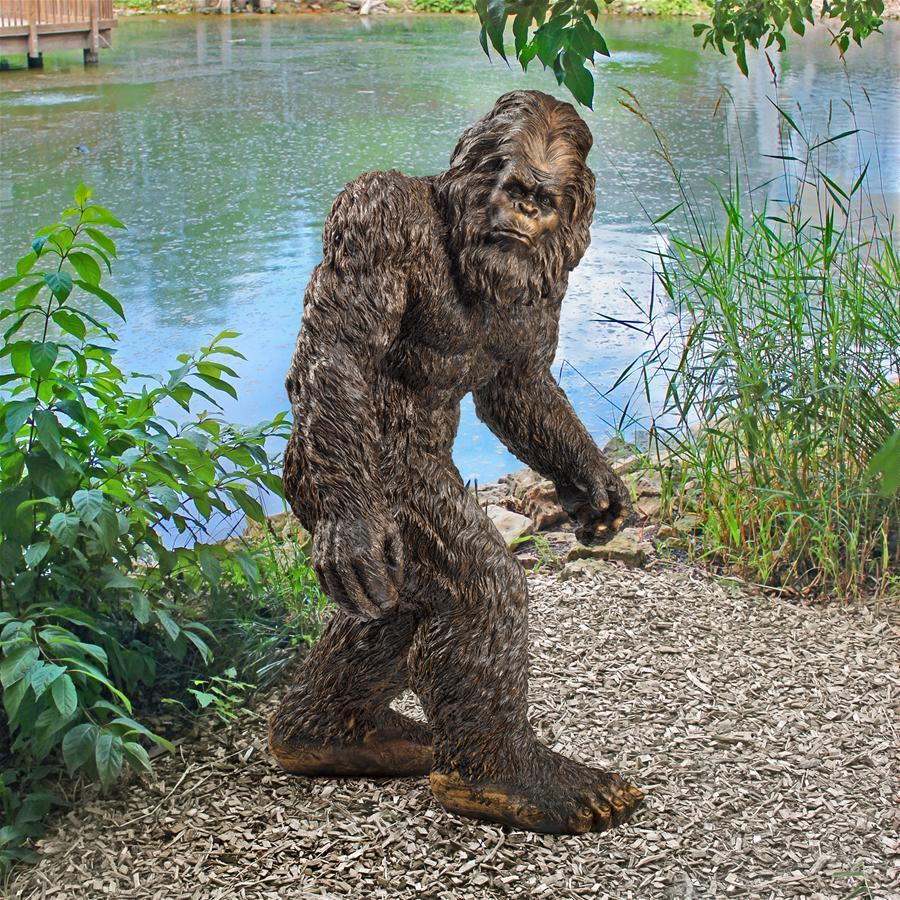 A Giant Sasquatch (Big Foot) Yard Statue (6 Feet Tall)