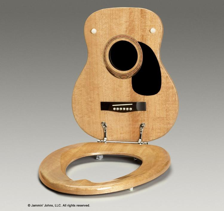 Jammin Johns Guitar Toilet Seat
