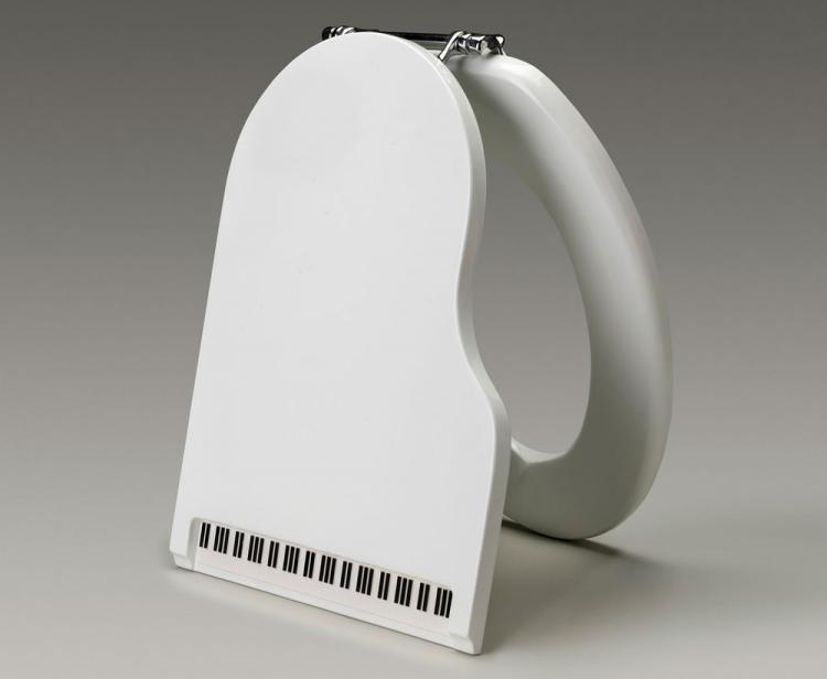 Jammin Johns Piano Toilet Seat