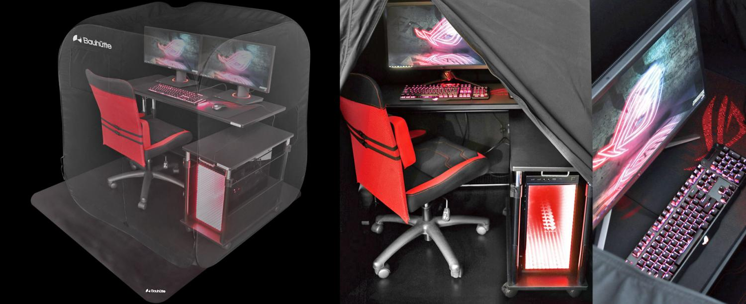 Ultimate Gaming Bed - Bauhutte Japanese bed for gamers
