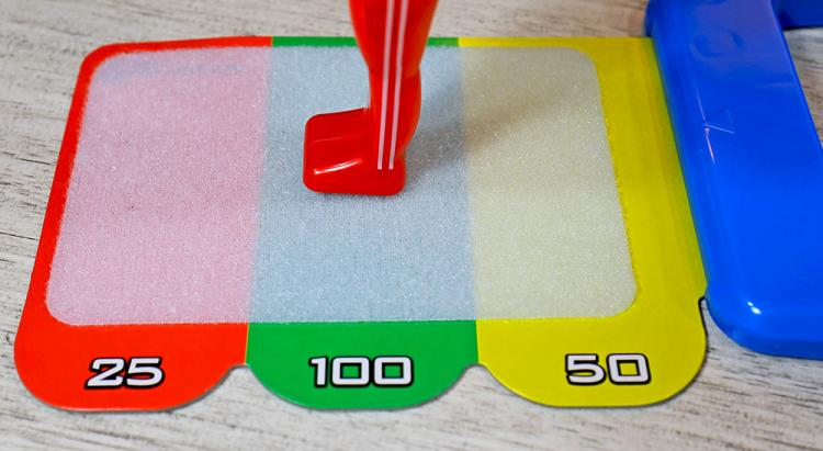 Spinning Gymnastics Toy - Spin gymnast around bar and land on velcro mat