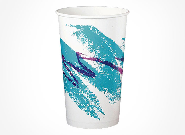 Jazzy 90s Cup Design T-Shirt