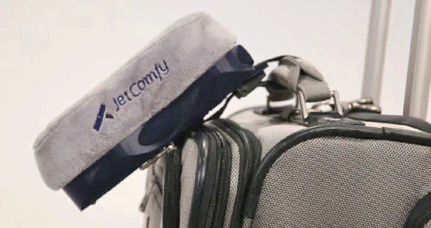JetComfy - Multi-function travel pillow - Charges Your Phone