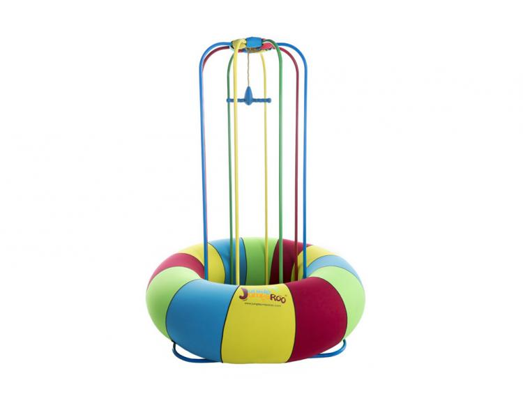 Jungle Jumparoo - Mini jumping playground - Water fountain kids playground