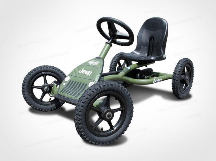 Junior Jeep Pedal Go Kart