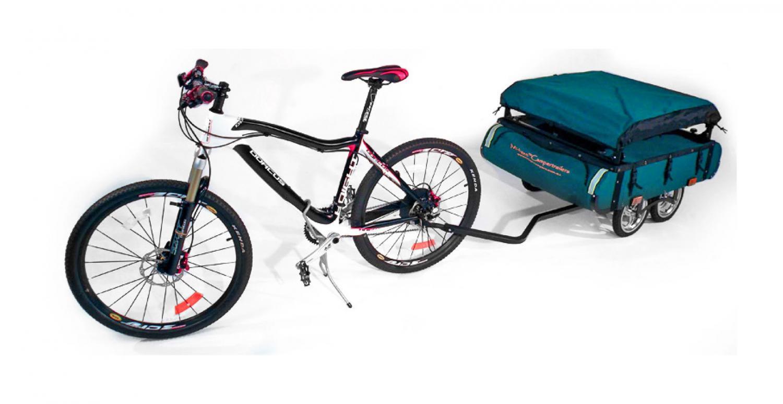 Kamp-Rite Midget Bushtrekka - Bicycle camping trailer pop-up tent - Bicycle cot tent