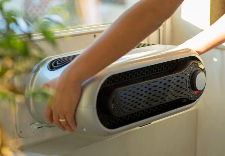 KAPSUL W5 - Modernized Window AC Unit - Smart Window Mounted Air-conditioner