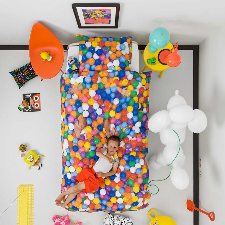 Snurk Unique Duvet and Bed Sheets - Unique Ball Pit Duvet