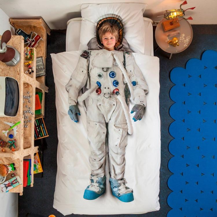Snurk Unique Duvet and Bed Sheets - Unique Astronaut Duvet