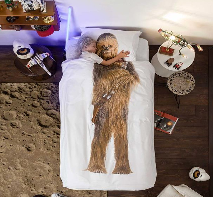 Snurk Unique Duvet and Bed Sheets - Unique Chewbacca Duvet