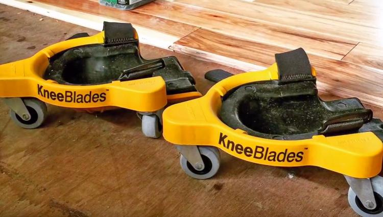 Knee Blades - Knee Pads With Wheels - Extreme comfort and mobility while working on floor