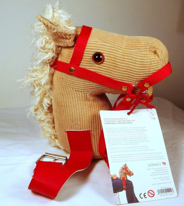 Knee Horsey Leg Ride Toy