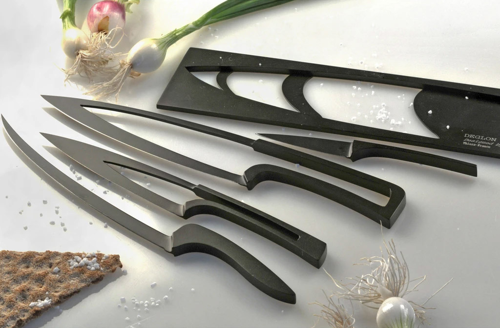 nesting kitchen knives knife within a knife stainless steel nesting cooking knife set 6050